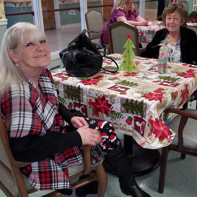 Image of two elderly women at Kadima at Campbelltown Nursing and Rehabilitation Facility