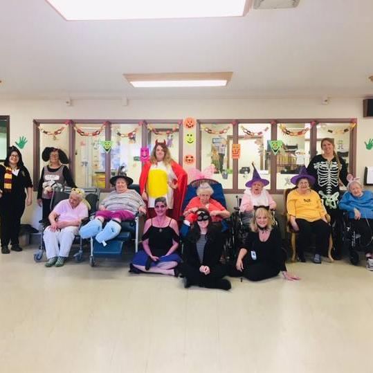 Image of Halloween Party at Kadima at Lakeside Nursing and Rehabilitation Facility