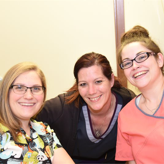 3 Smiling Staff Members at Kadima Lakeside