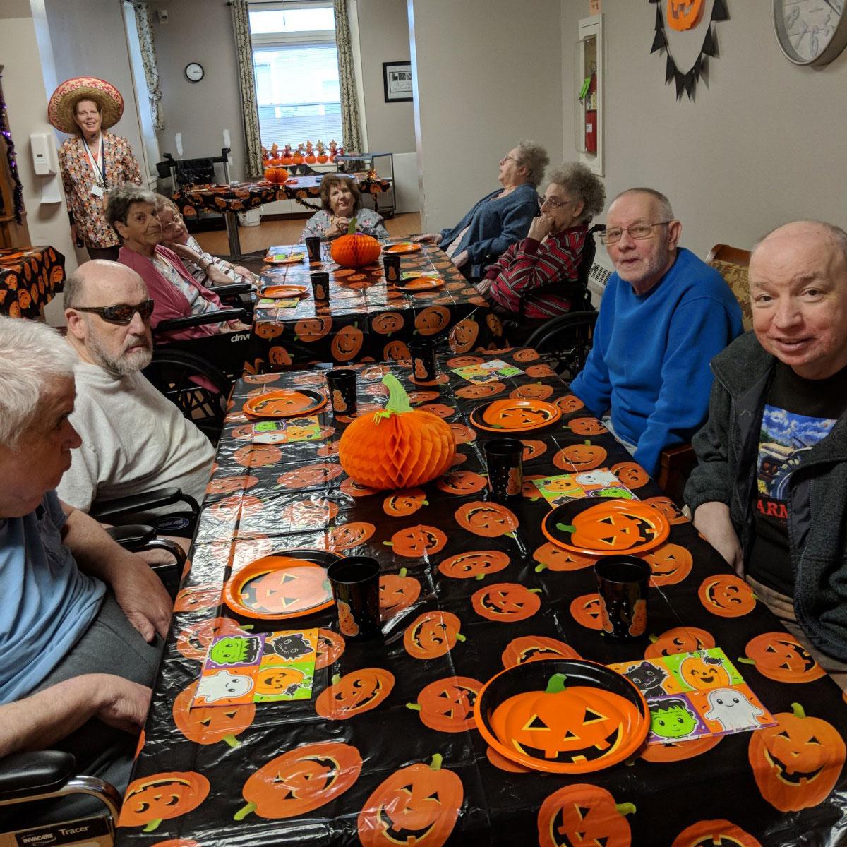 Image of Halloween Party at Kadima at Palmyra Nursing and Rehabilitation Facility