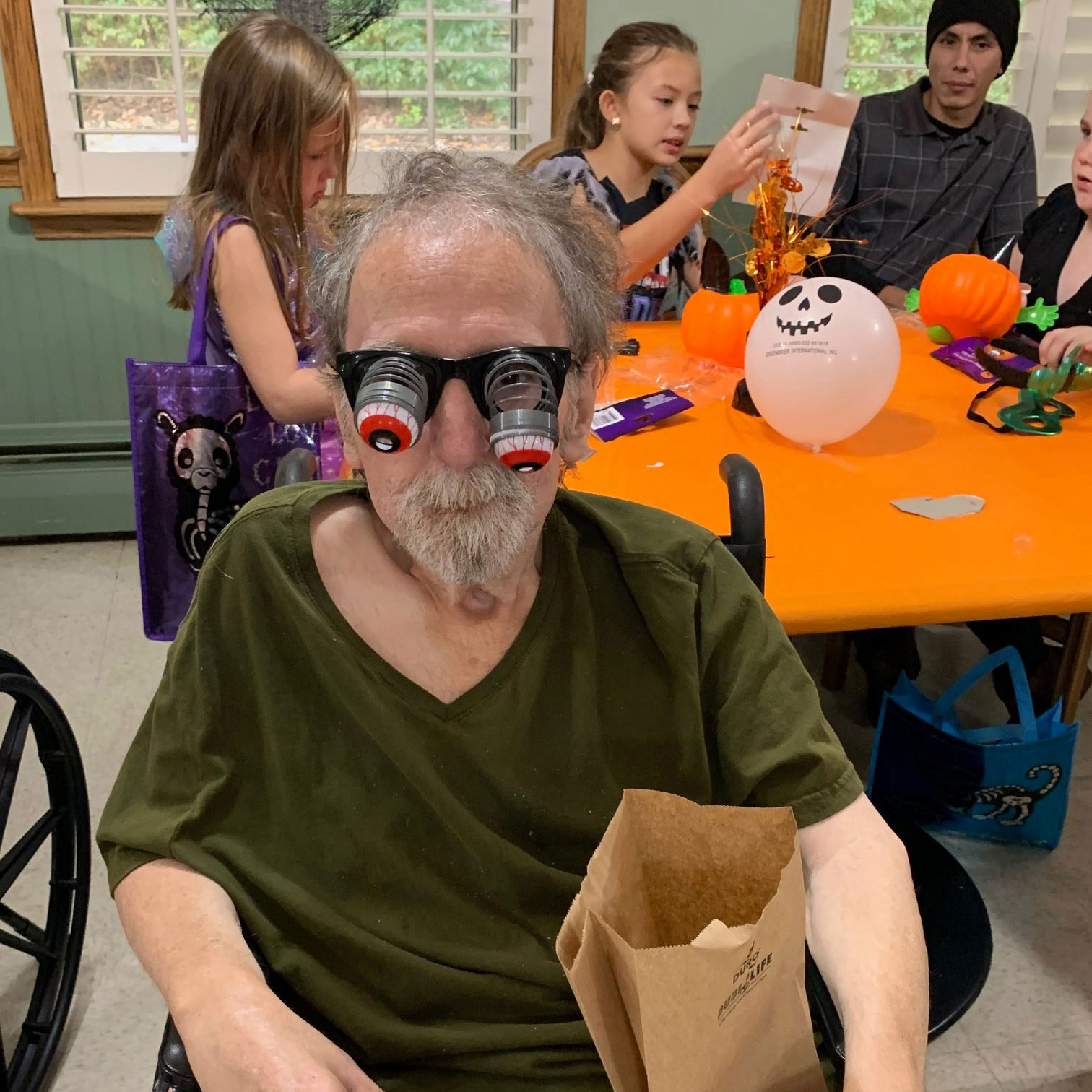 Halloween Paryt With Elderly People and Residents at Kadima at Pottstown Nursing and Rehabilitation Facility