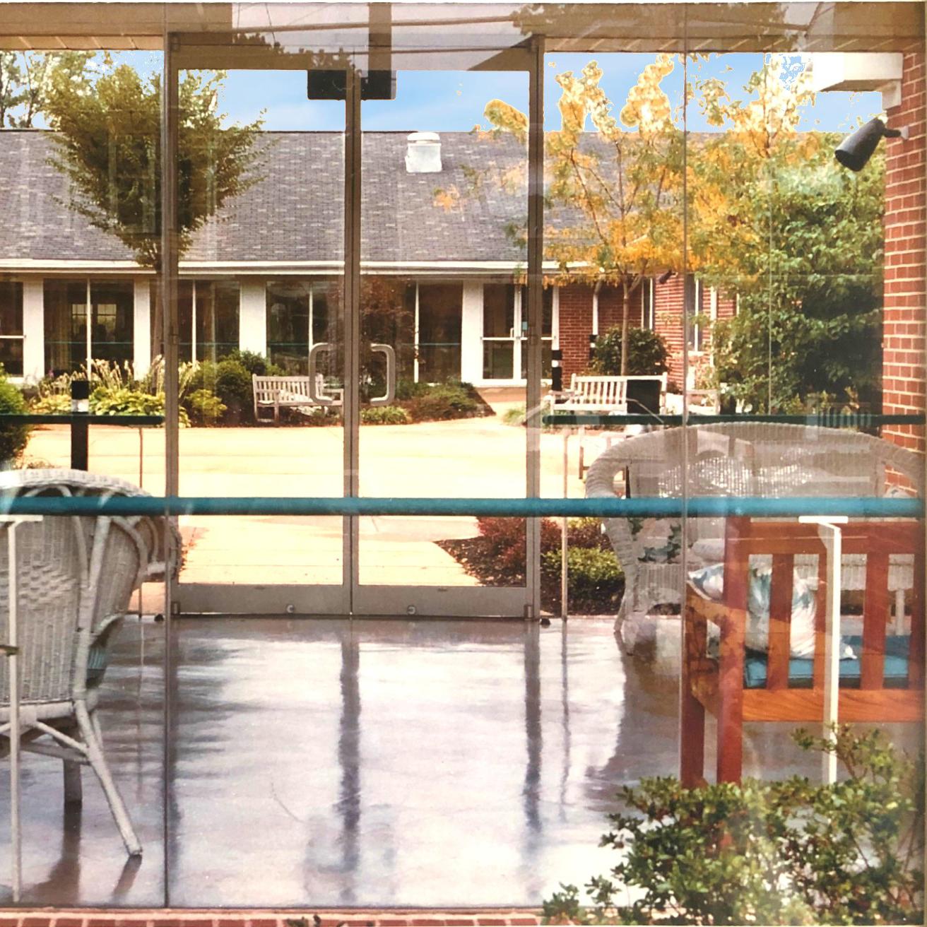 Image of courtyard at Kadima at Campbelltown Healthcare Group Nursing and Rehabilitation Facility