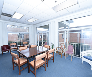 Inside of Kadima Healthcare Facility Dining Room and Lounge
